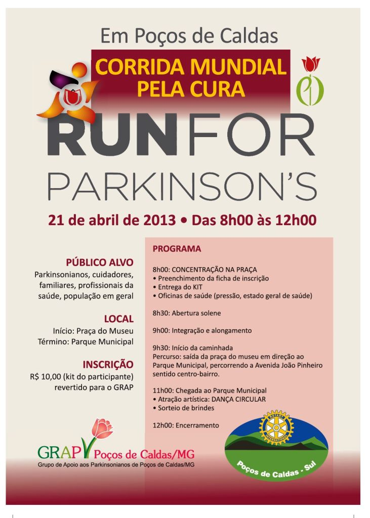 Brasil Run for Parkinson's 2013