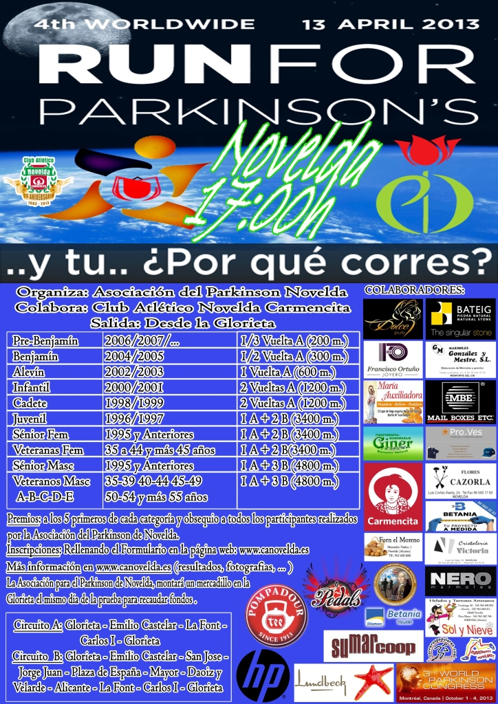 Novelda Run for Parkinson 2013