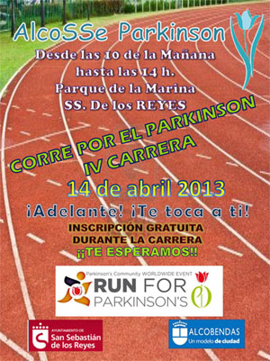 Alcobendas Run for Parkinson's 2013