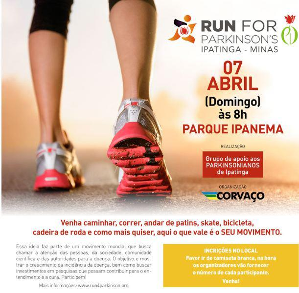 Ipatinga Run for Parkinson's 2013
